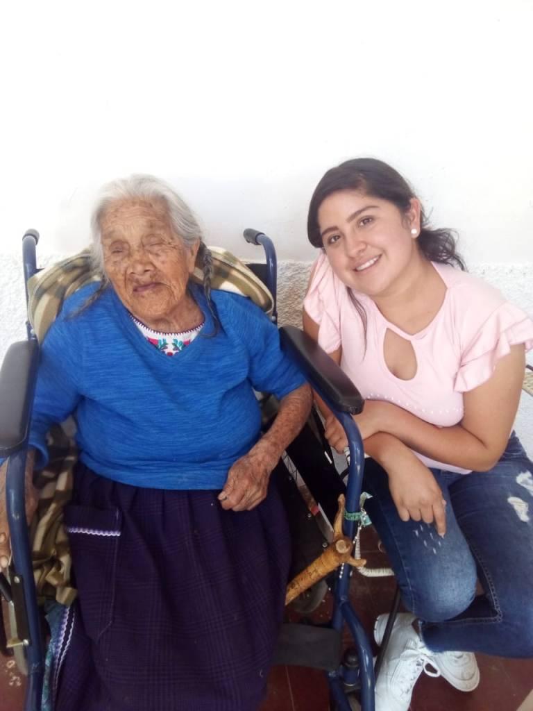 """Conoce a la verdadera """"Mamá Coco"""" con 107 años de edad"""