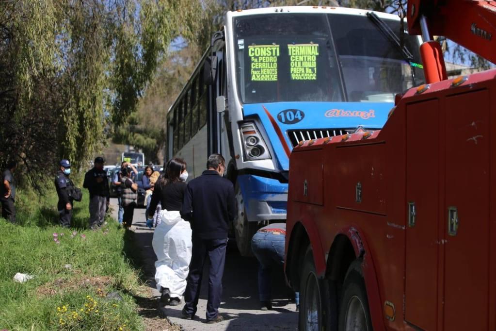 Infante pierde la vida a consecuencia del transporte público en Toluca