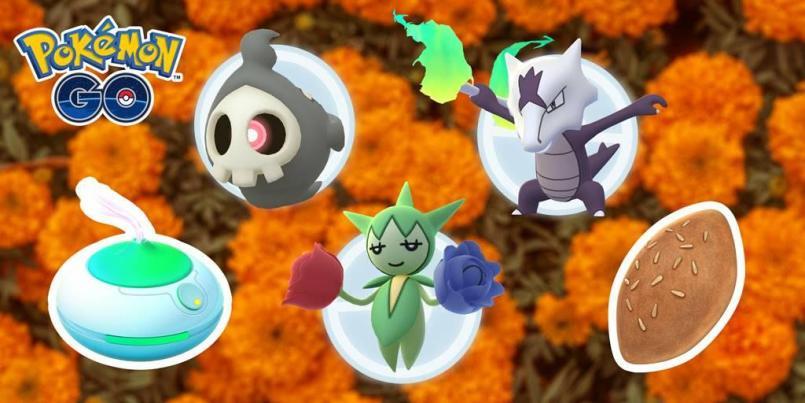 Pokémon Go tendrá evento de Día de Muertos