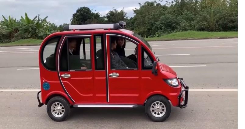 Por solo $20,000.00 pesos adquiere este auto eléctrico
