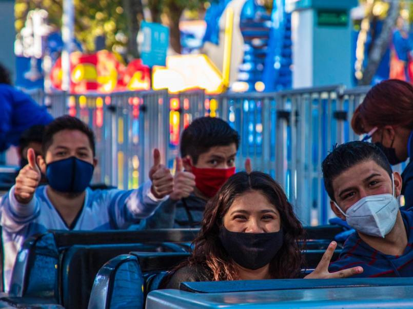 REAPERTURA SIX FLAGS MÉXICO