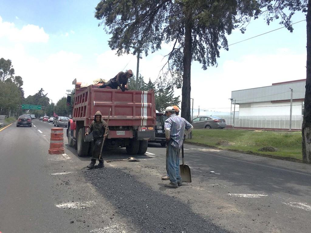 Toluca || Paseo Tollocan reducirá sus carriles provisionalmente