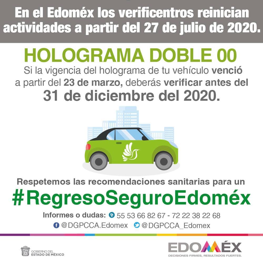 Verificación EDOMEX 2020 || Te decimos todo acerca de los hologramas
