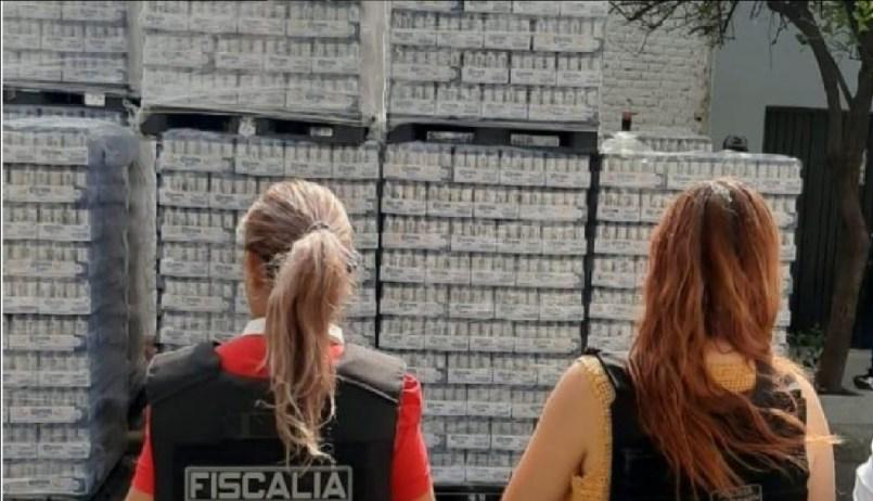 Encuentran carga de cervezas robada valuada en más de un millón de pesos