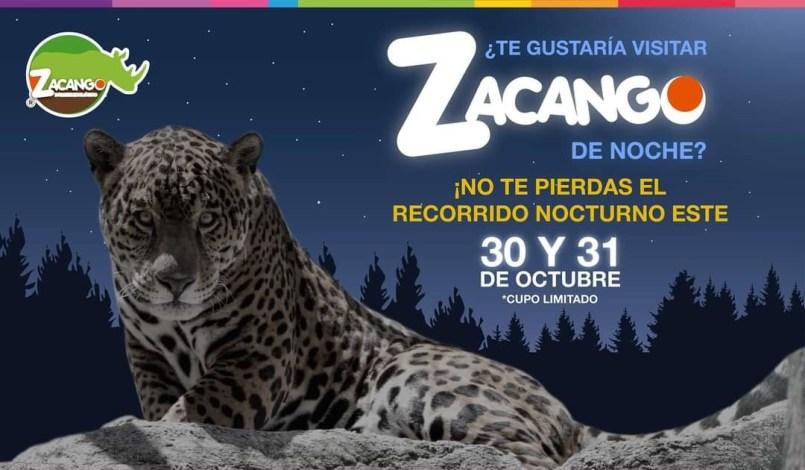 Parque Ecológico Zacango invita a su recorrido nocturno por día de muertos