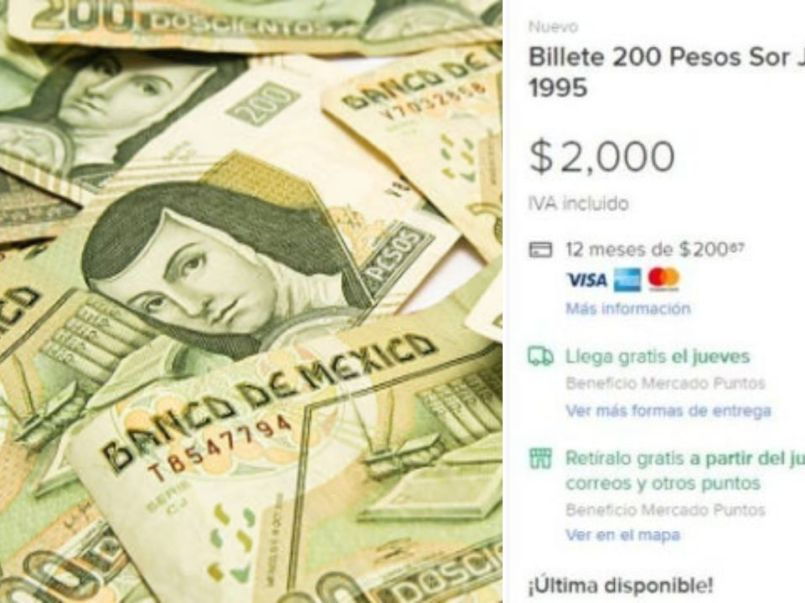 Billetes-de-Sor-Juana-se-venden-hasta-en-2-mil-pesos