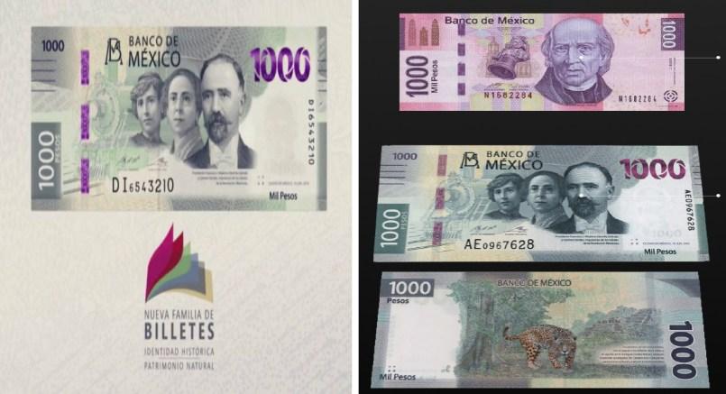 Este es el nuevo billete de 1000 pesos || VIDEO