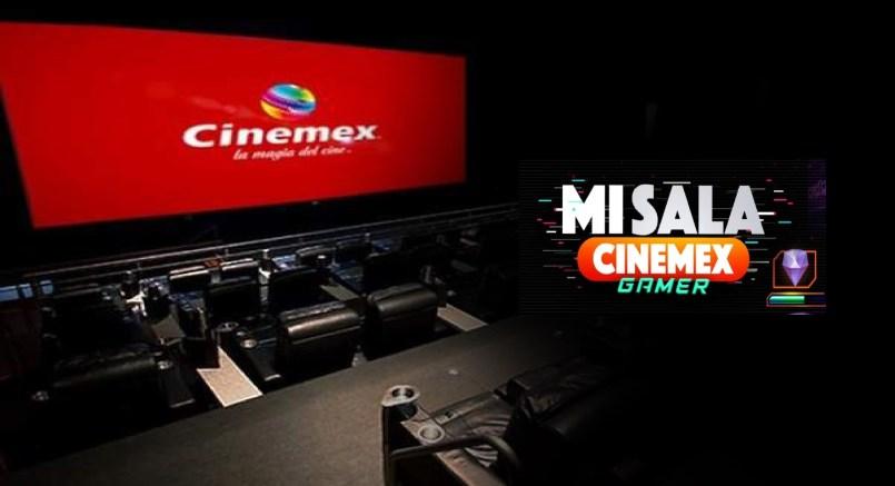 Mi Sala Cinemex Gamer Renta una sala de cine para jugar videojuegos1