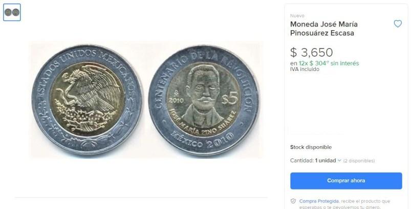Moneda-de-Pino-Suarez-se-vende-en-mas-de-3-mil-pesos