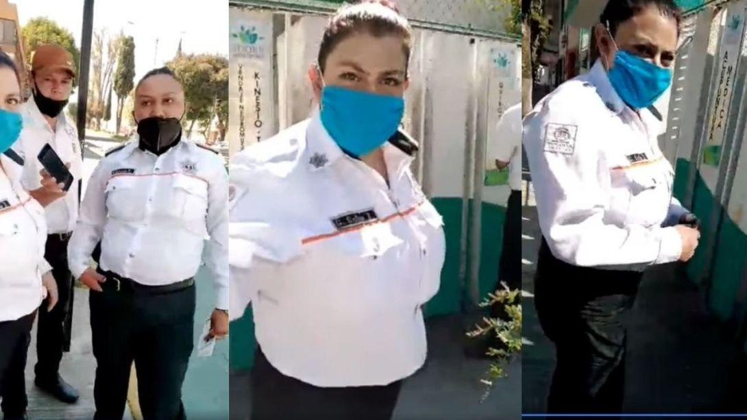 Policia-de-Toluca-agrede-verbalmente-a-taxistas