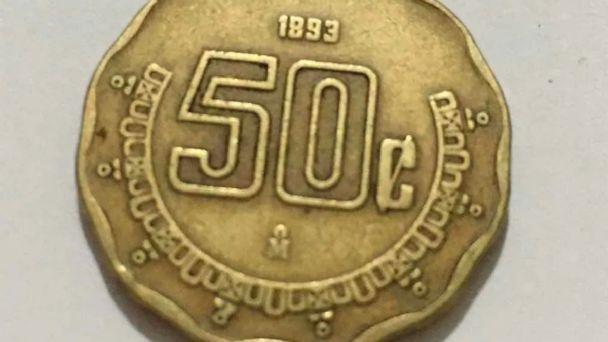 Esta moneda de 50 centavos se vende hasta en 20 mil pesos