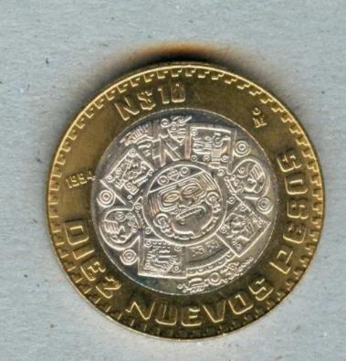 Estas monedas de 10 pesos se venden hasta en 2 mil pesos