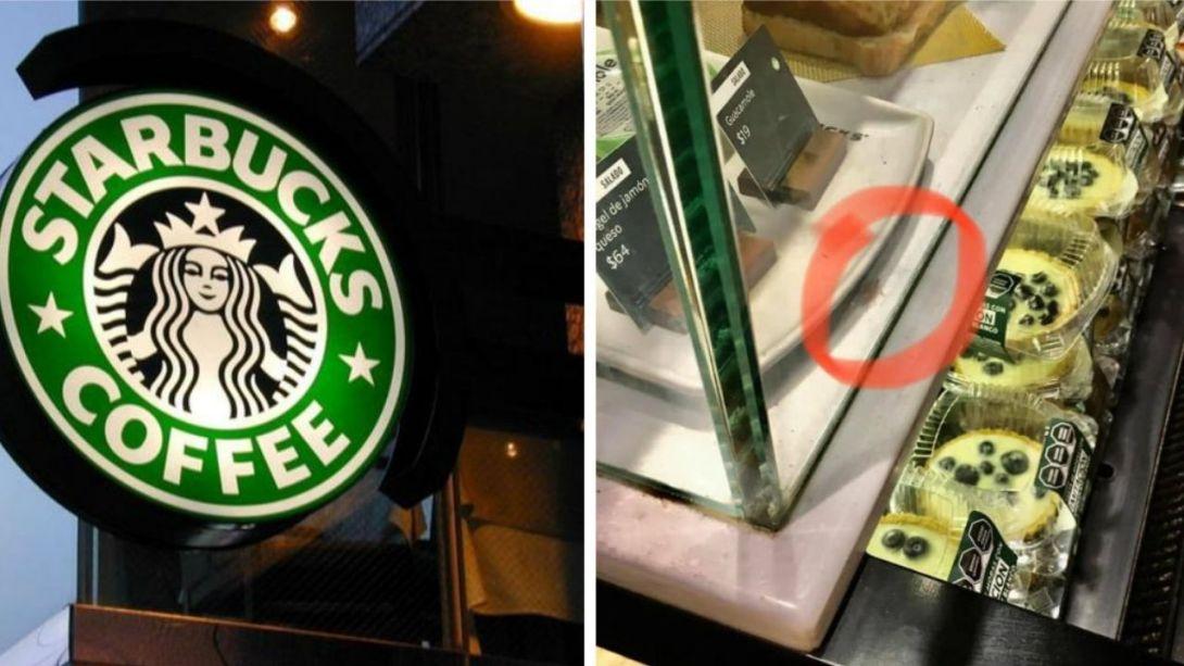Captan-cucaracha-en-una-tienda-de-Starbucks-Mexico