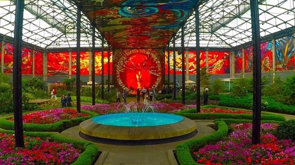Jardín botánico Cosmovitral en Toluca, Estado de México