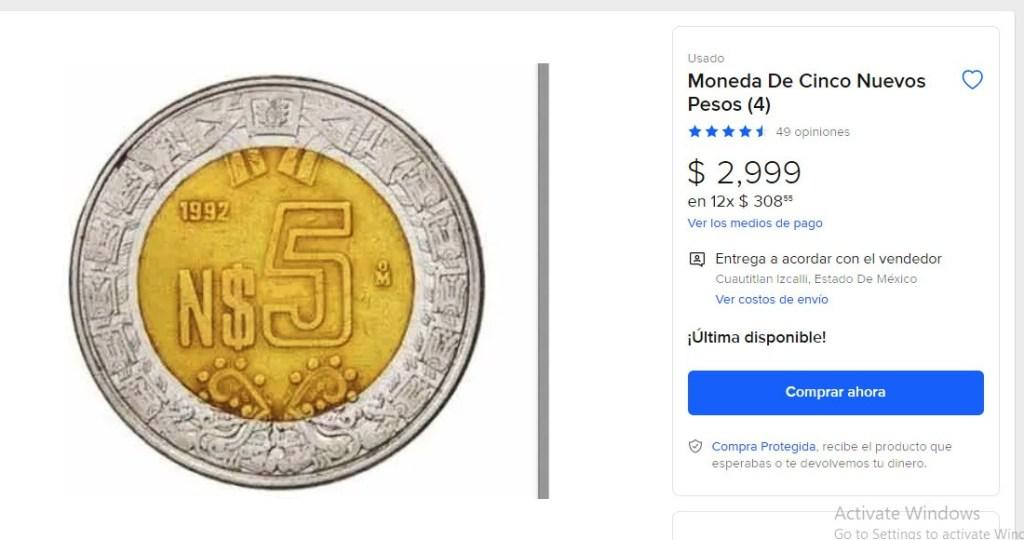 Moneda-de-5-pesos-se-vende-hasta-en-3-mil-pesos