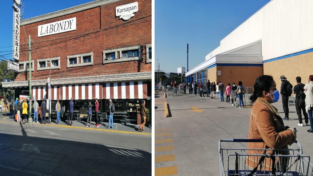 Toluca registra un alto número de personas en establecimientos por compras de último momento
