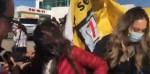 (Video) Elemento de seguridad de AMLO es cacheteado por manifestante