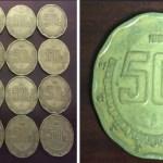 Características del porqué moneda de 50 centavos se vende hasta en 2 mil 900 pesos