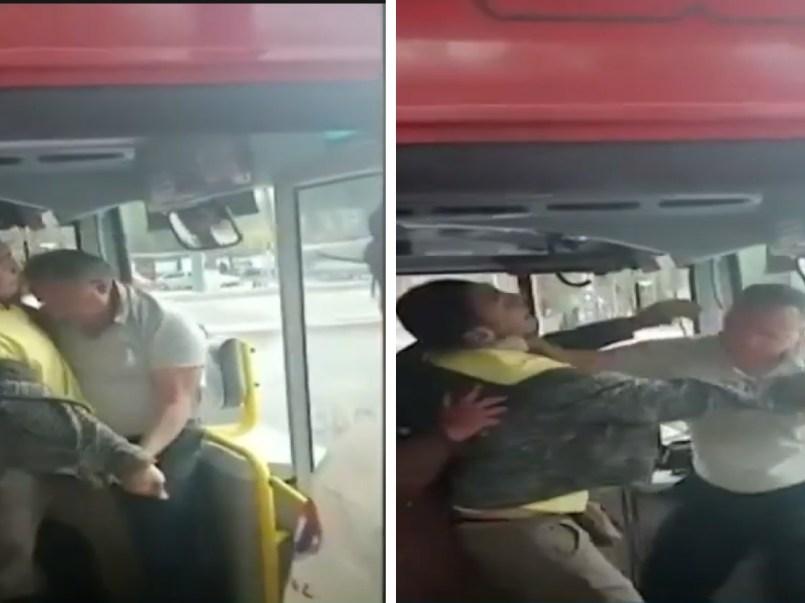 Chofer de Metrobús CDMX es agredido por usuarios