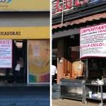 Comerciantes continúan colocando pancartas contra ciclovía de Isidro Fabela4
