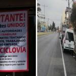Comerciantes protestan pese a no respetar ciclovía de Isidro Fabela2