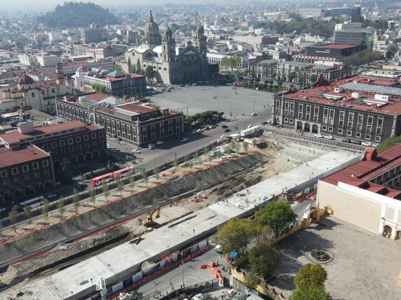 Parque de la Ciencia de Toluca presenta pocos avances