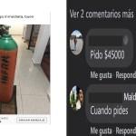 Tanques de oxígeno, abusos y estafas en grupos de Facebook en Toluca8