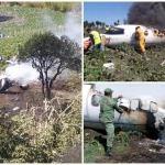 Se desploma aeronave de la FAM en Veracruz
