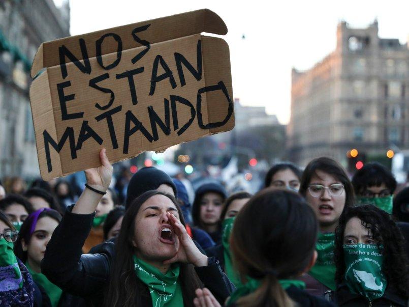 Marcha-Mujeres-Contra-Violencia-de-genero-mexico