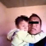 Niño de 4 años es arrestado junto a su padre en Chiapas || VIDEO