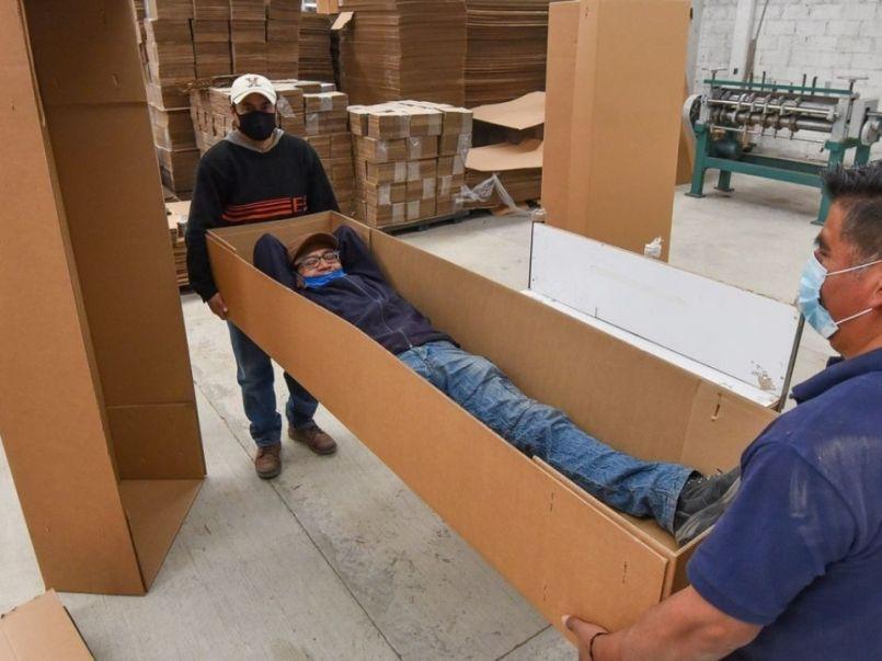 Se trata de la empresa KJ Cajas de Cartón, que se encarga de utilizar materiales biodegradables que resultan muy económicos.