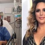 La actriz Angélica Vale pide ayuda para recaudar fondos para apoyar a 'Cepillín', quien recientemente fue hospitalizado