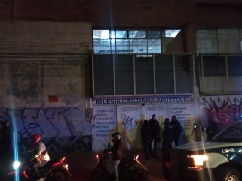 autoridades del edomex respondieron ante la denuncia ciudadana y acuden a desmantelar una fiesta clandestina celebrada dentro de una aparente Iglesia Cristiana
