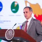 el subsecretario de salud Hugo López-Gatell ya se encuentra recuperandose después de haber sido hospitalizado durante el fin de semana